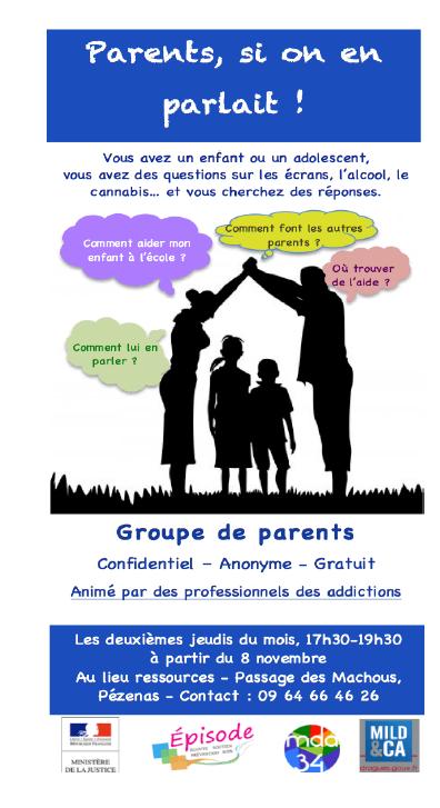 groupe parents affiche